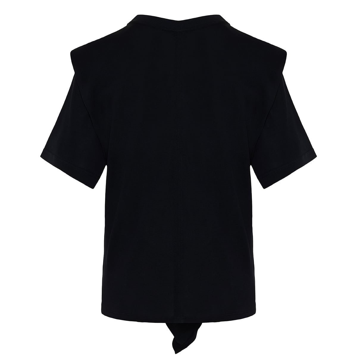 Zelikia knot knitted t-shirt