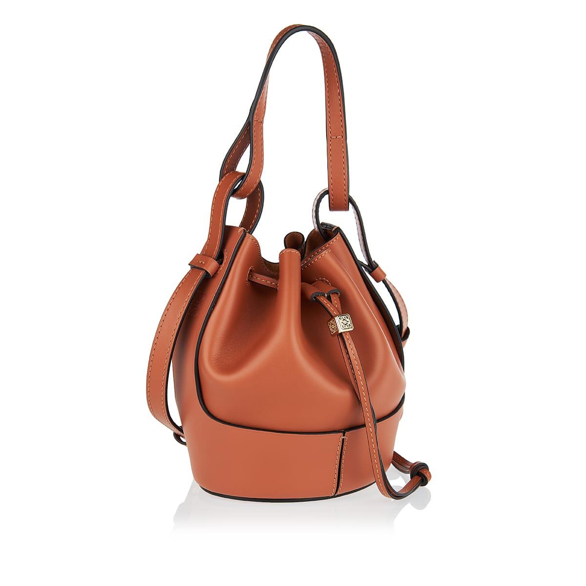 Balloon mini leather bag