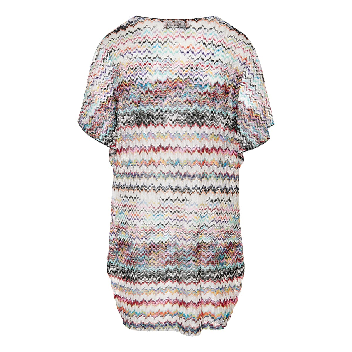 Printed knit cover-up