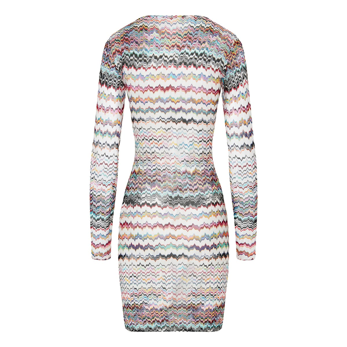 Patterned knit cover-up