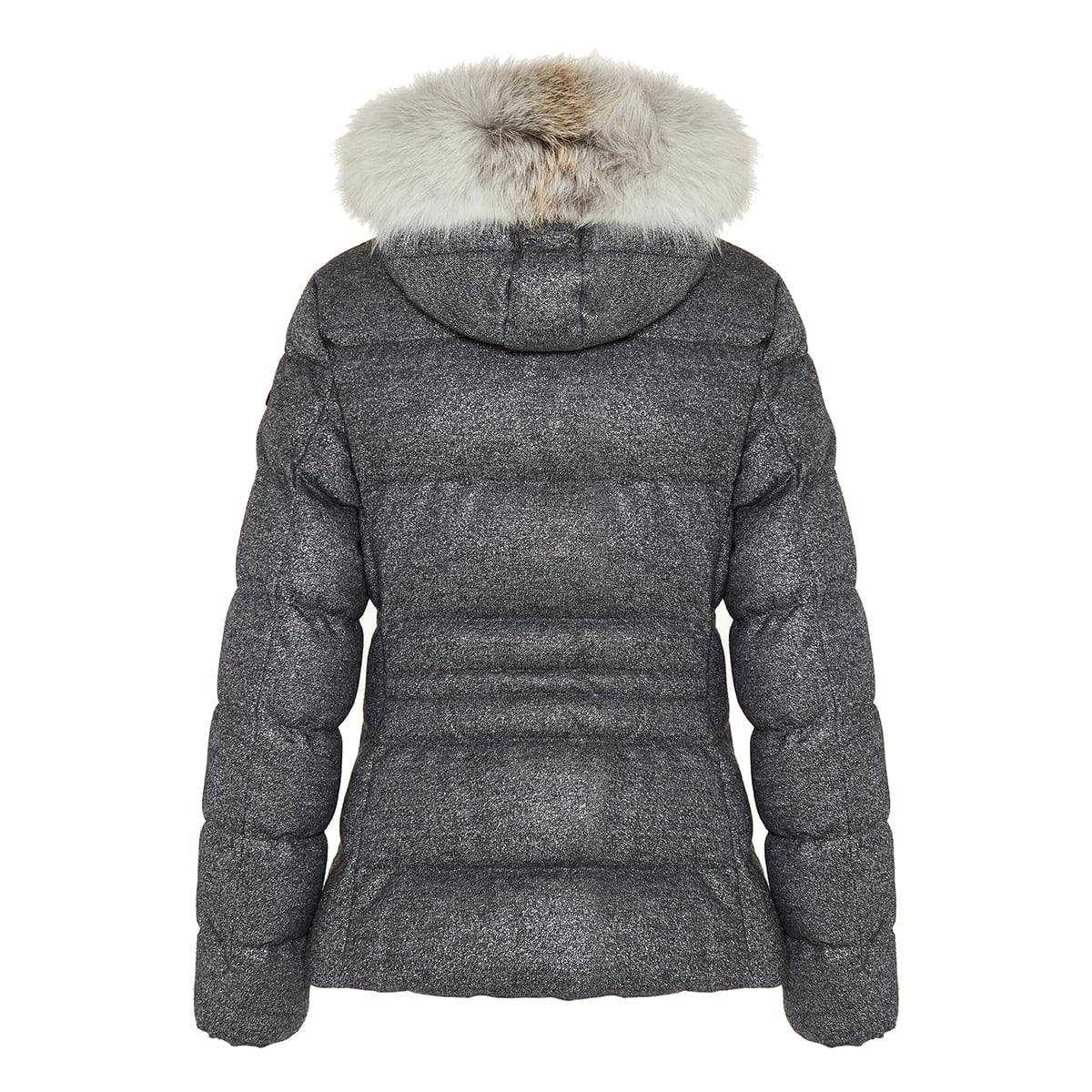 Cardamine quilted wool puffer jacket