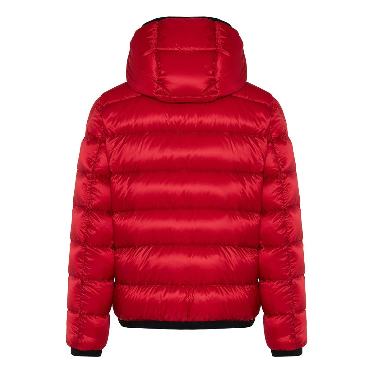 Myosotis quilted puffer jacket