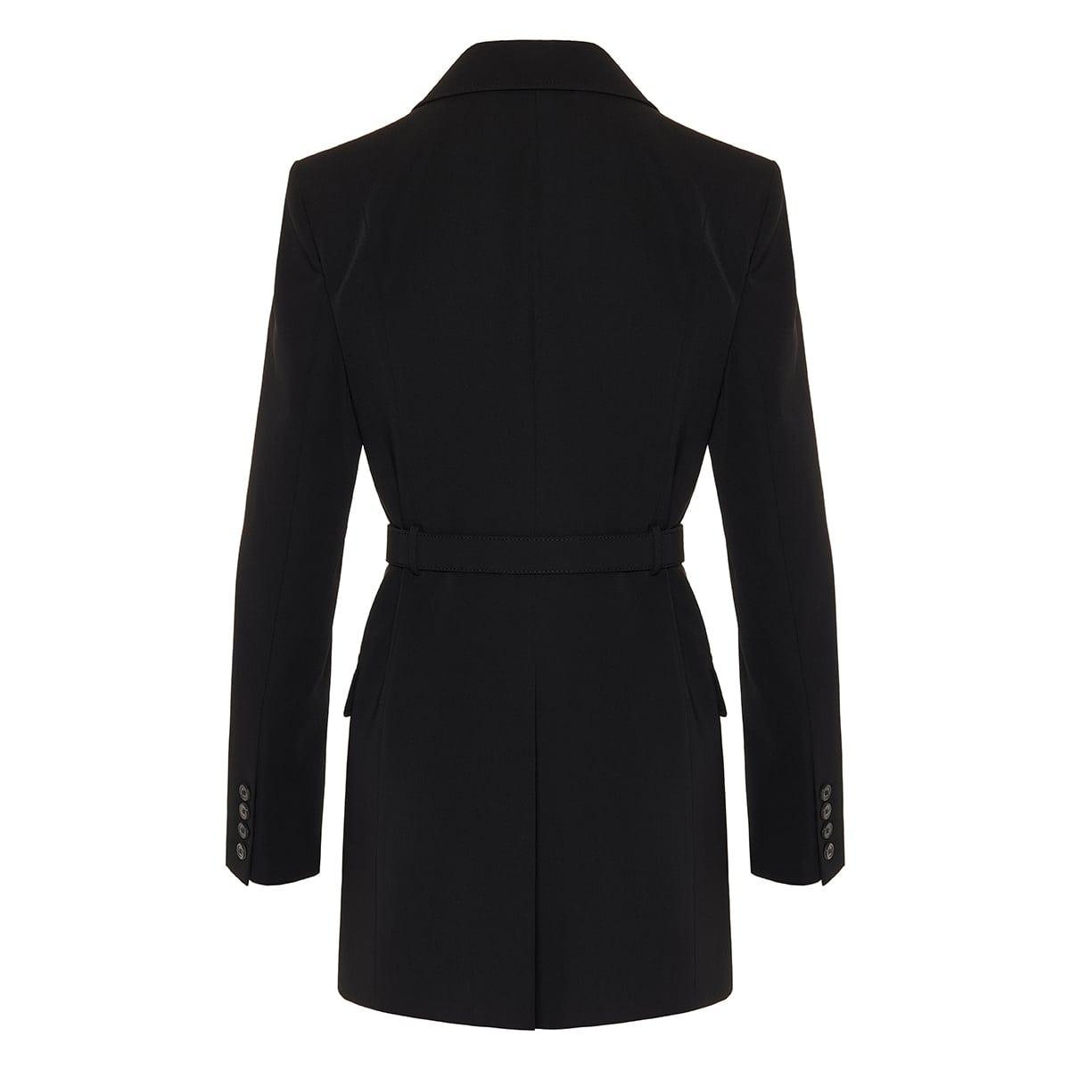 Belted wool jacket
