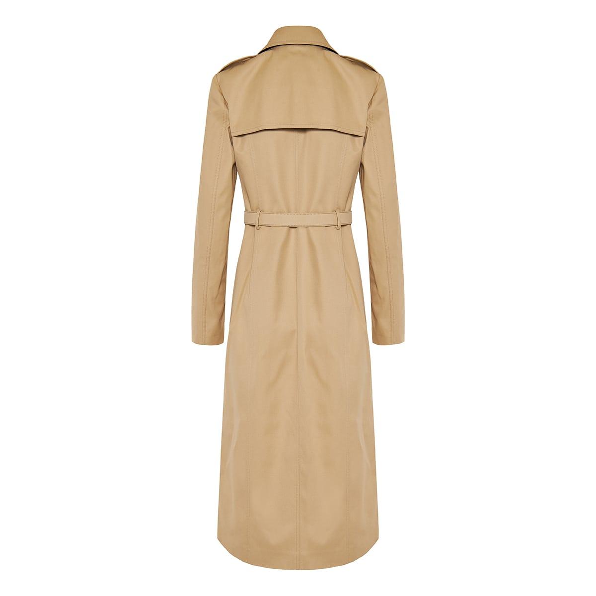 Vlogo belted trench coat