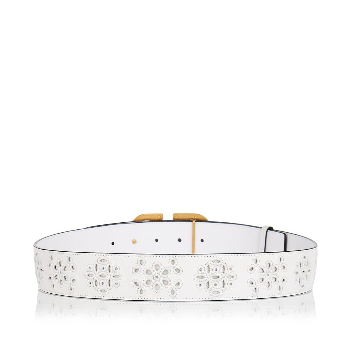 San Gallo Vlogo leather belt