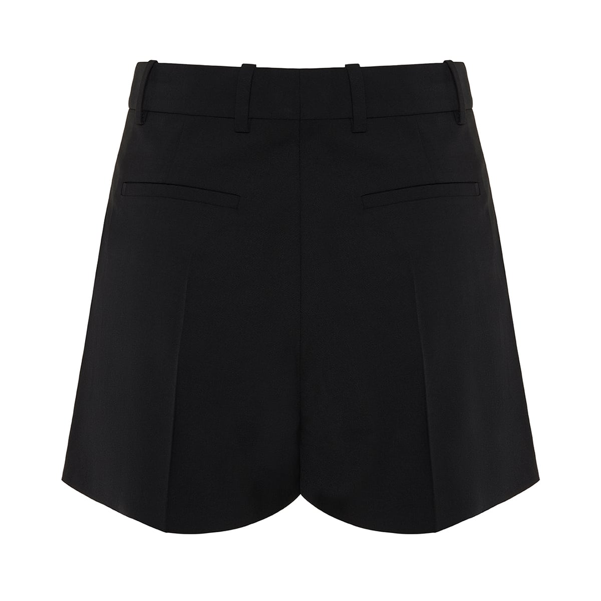 Wool tailored shorts