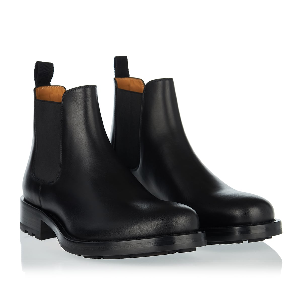 Maxi Stud leather Chelsea boots
