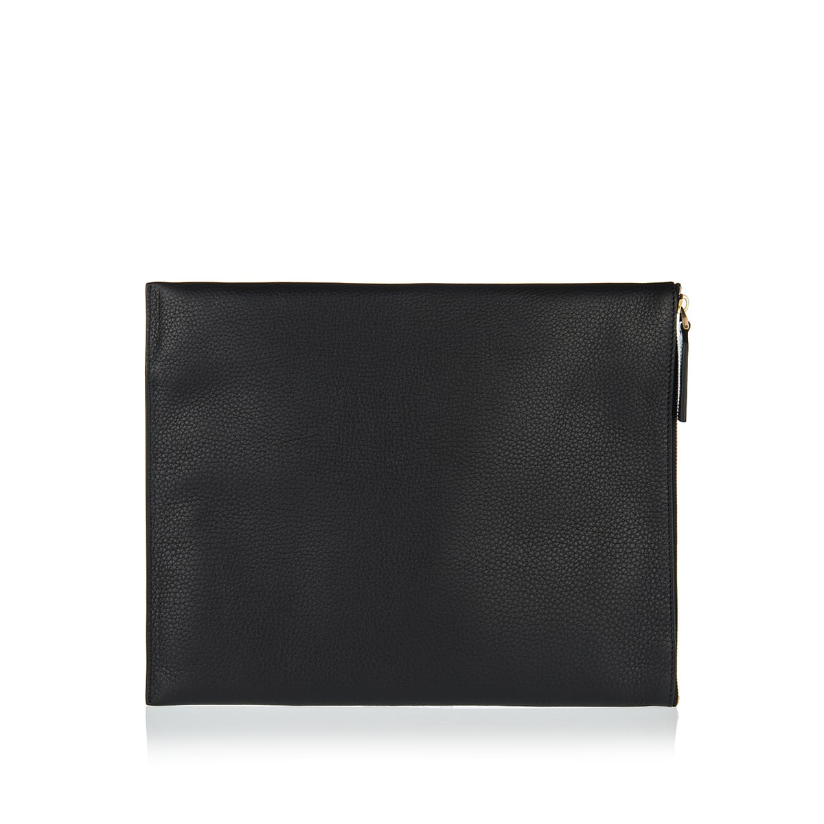 Identity leather pouch