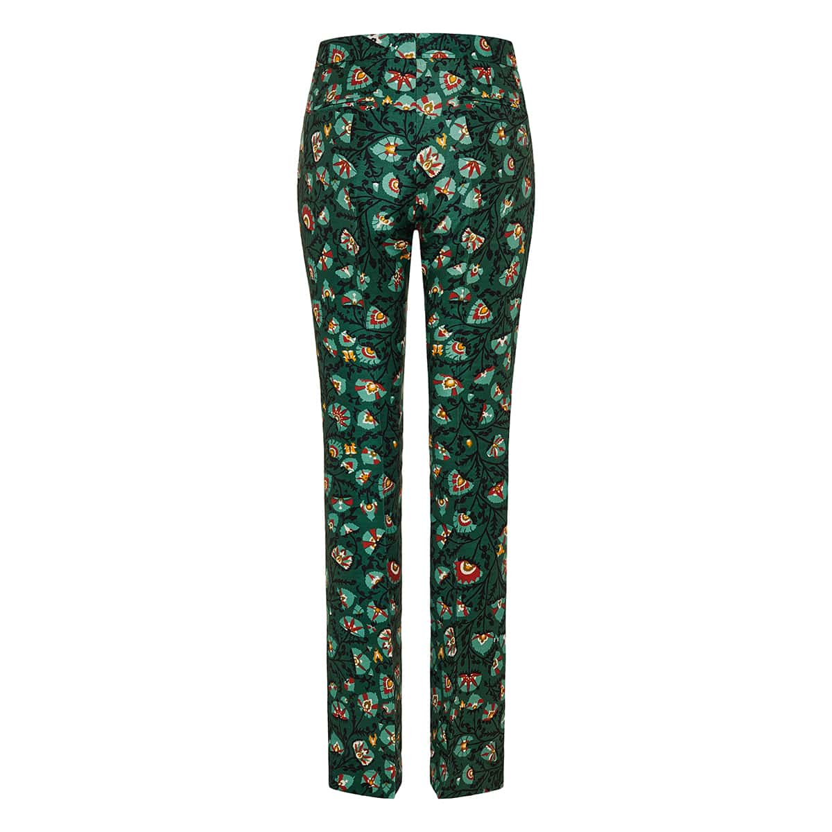 Saturday Night printed flared trousers
