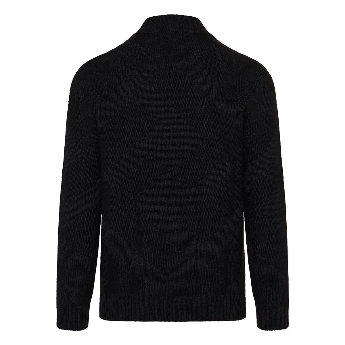 FF jacquard cashmere sweater