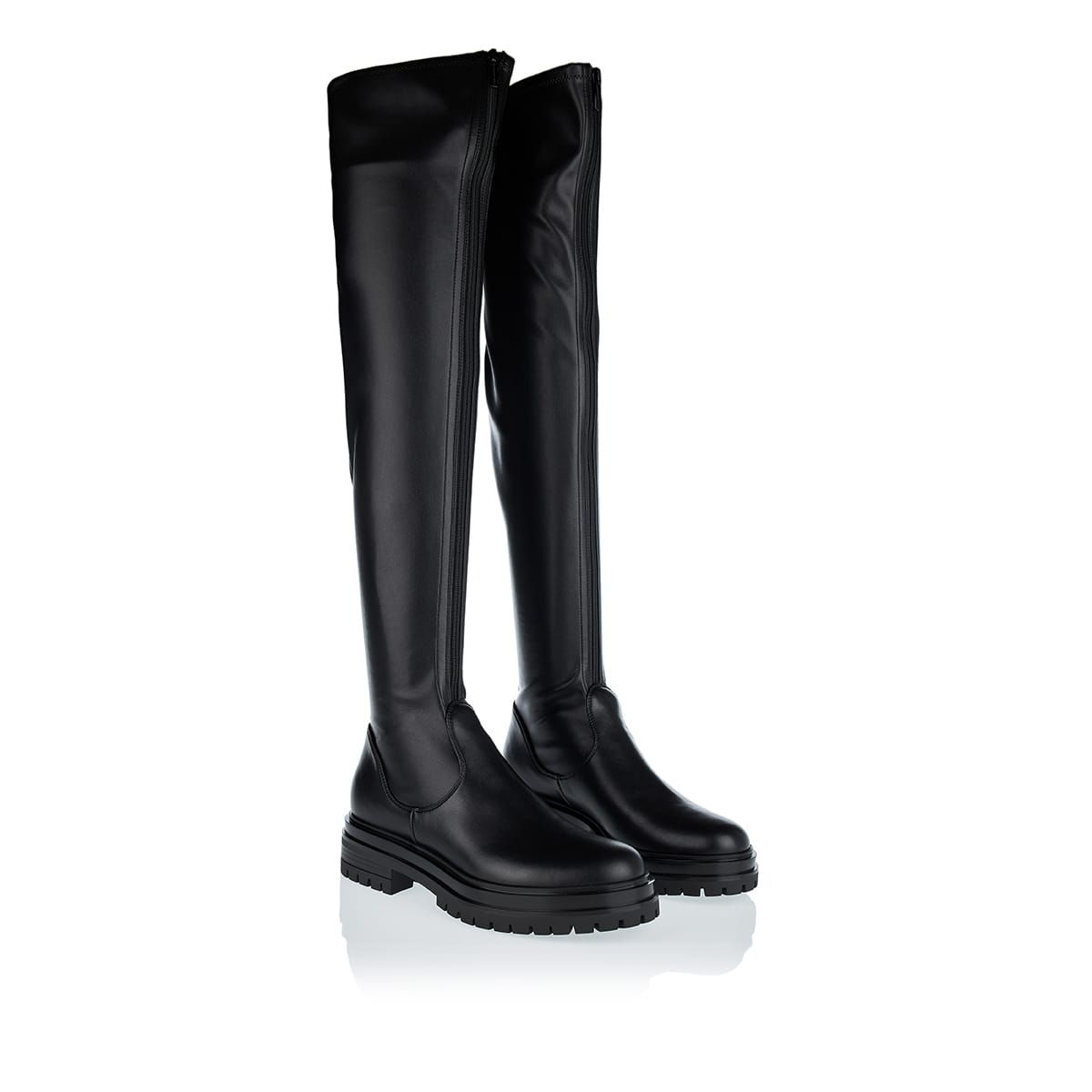 Marsden over-the-knee leather boots