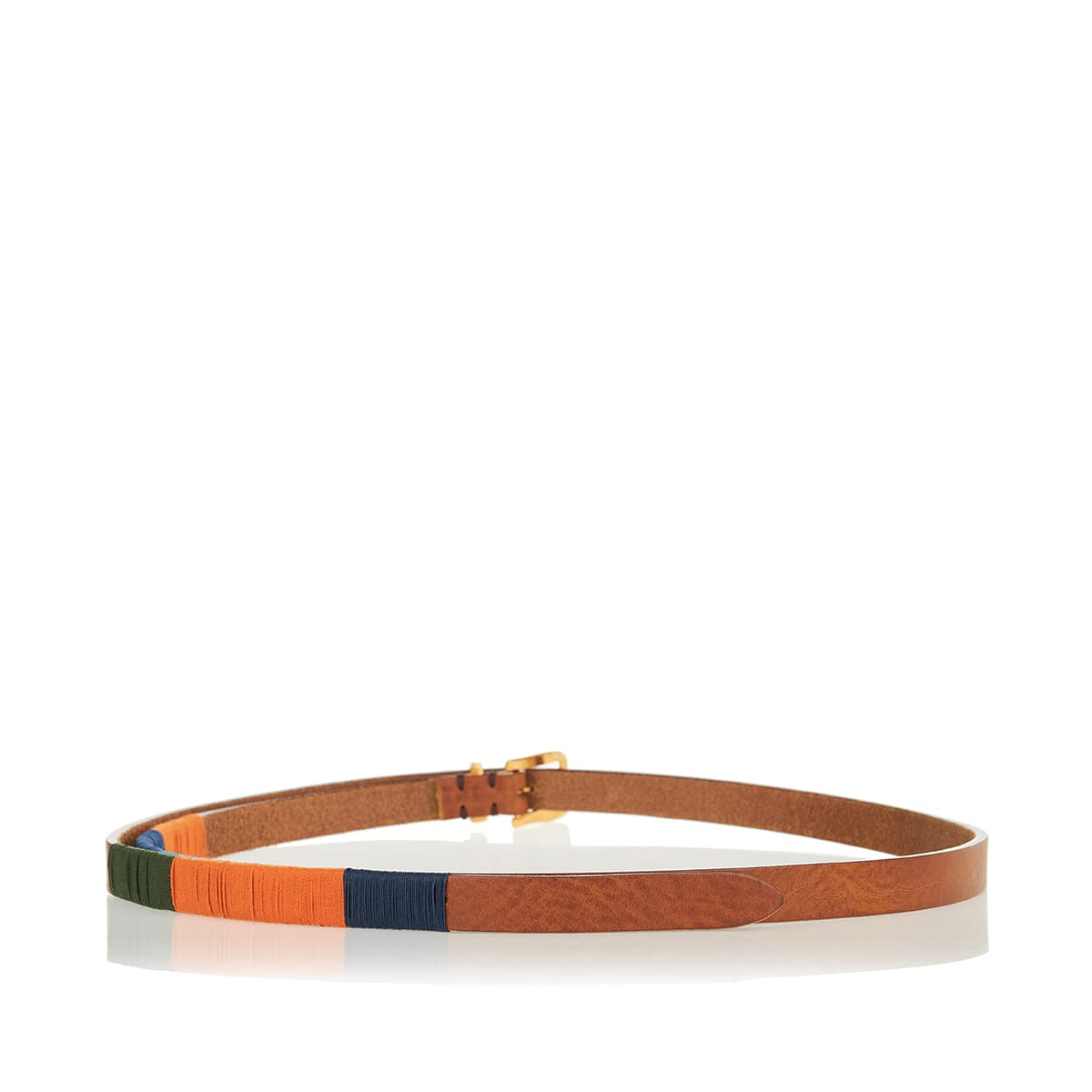 x Federico Curradi Tereso leather belt