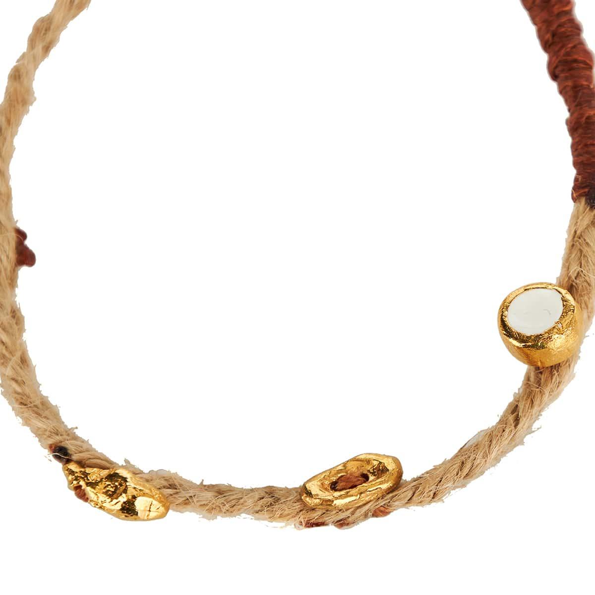 x Federico Curradi Tosco embellished rope bracelet