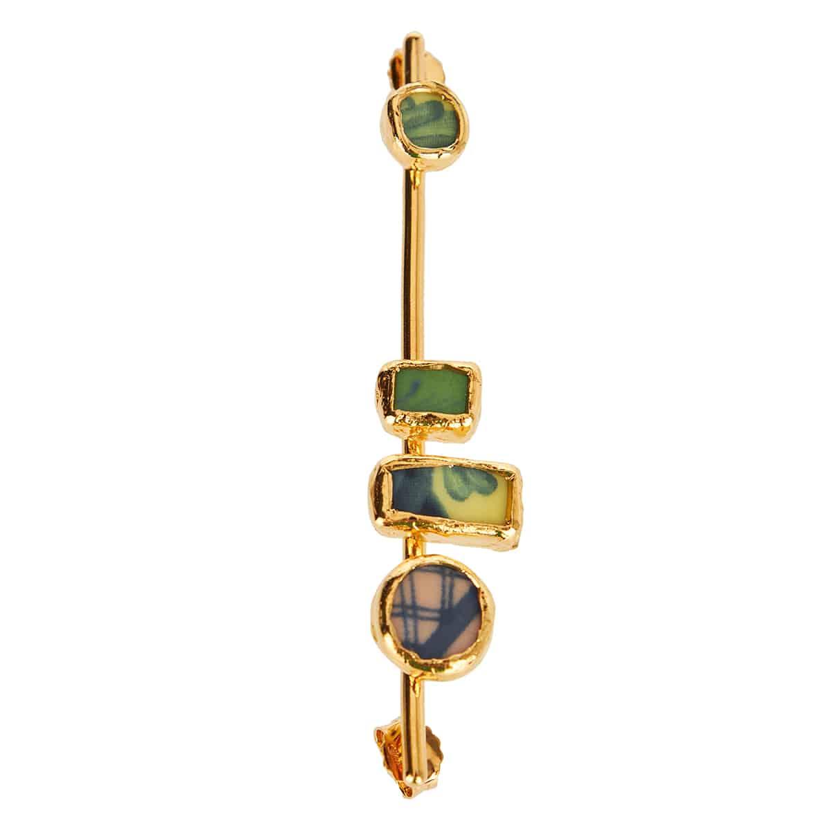 x Federico Curradi Temistocle brass brooch