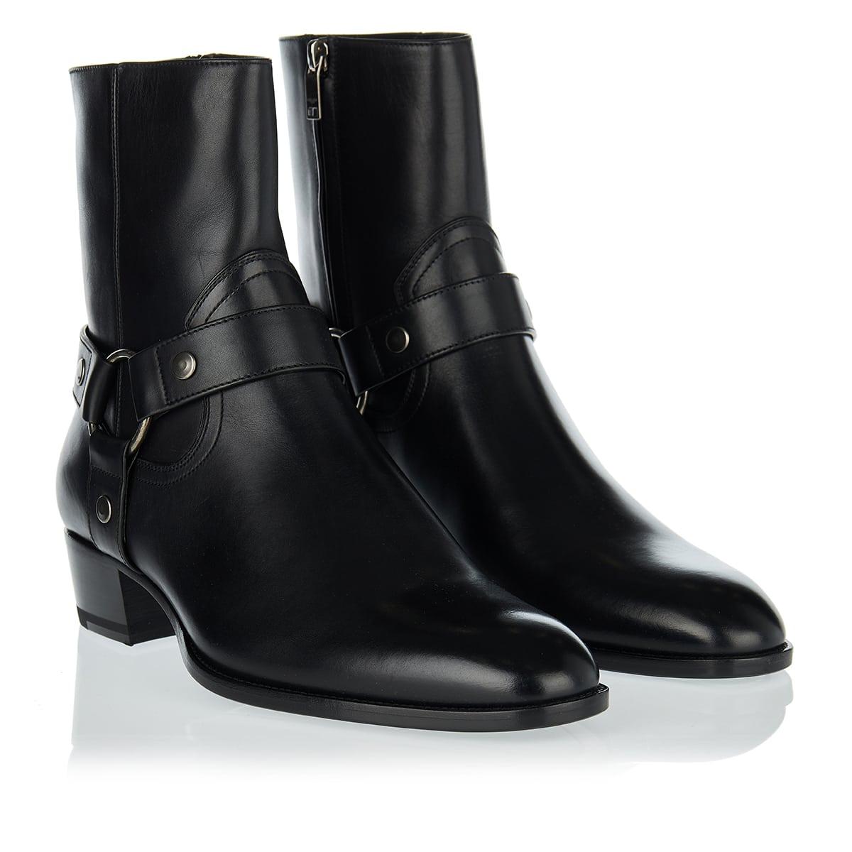 Wyatt harness leather boots