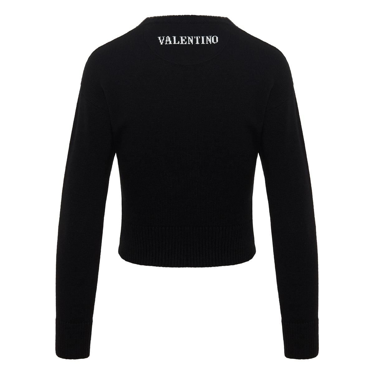 Logo cashmere sweater