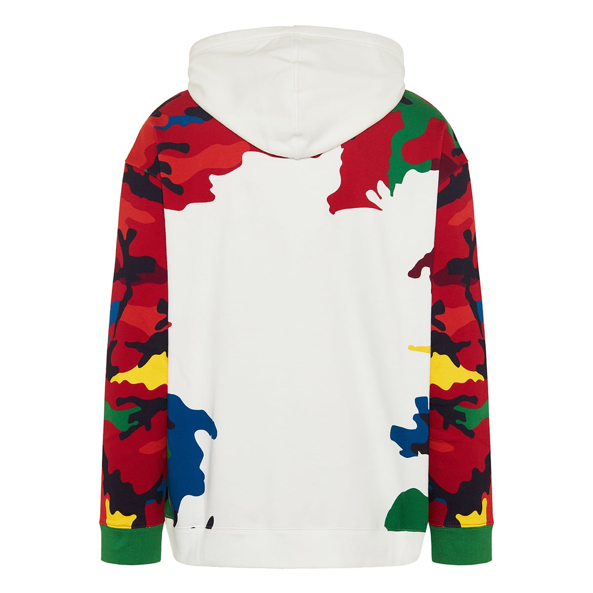 CAMOU7 VLTN printed hoodie