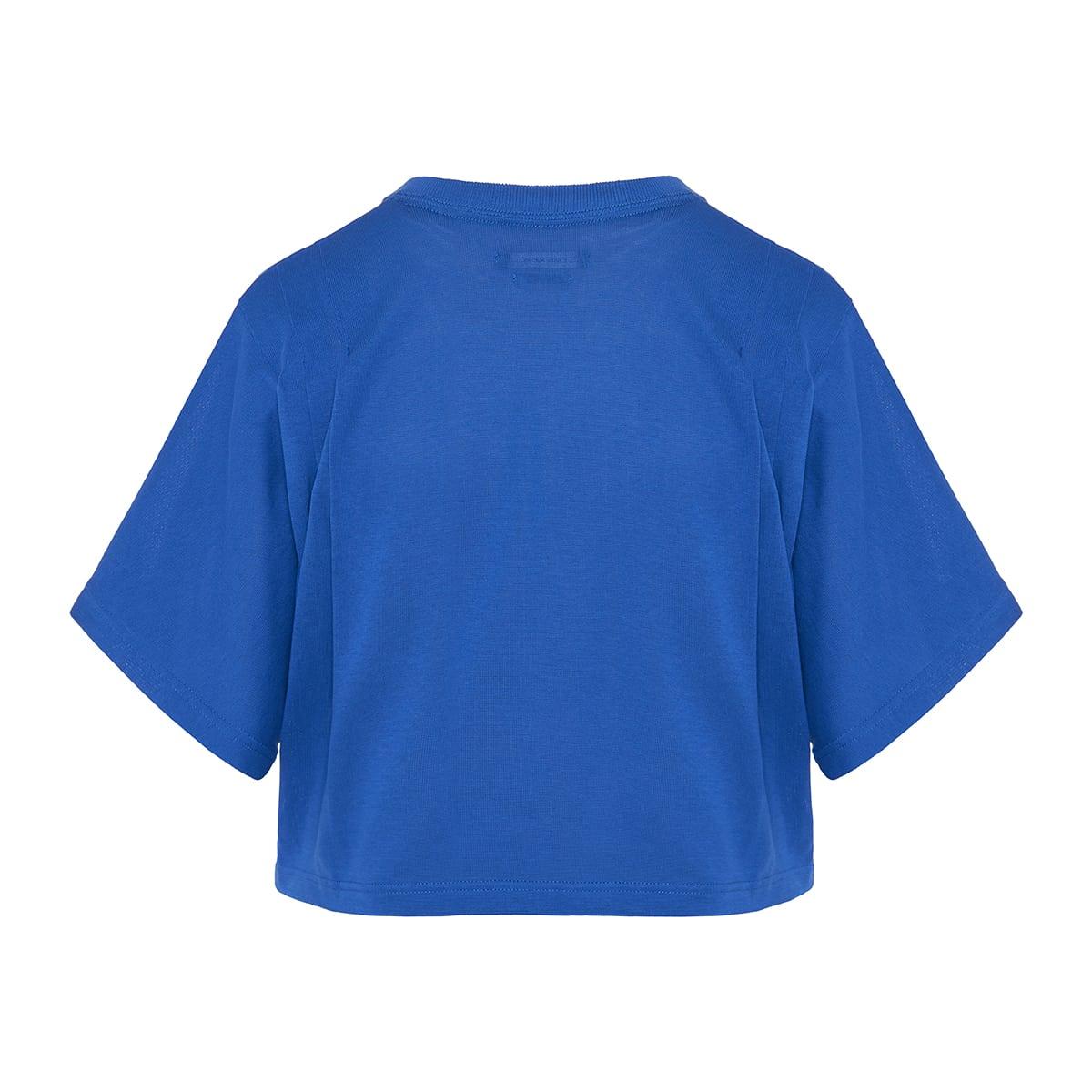 Zinaliki cropped cotton t-shirt