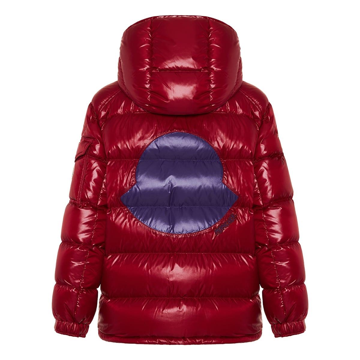 Fustet logo puffer jacket