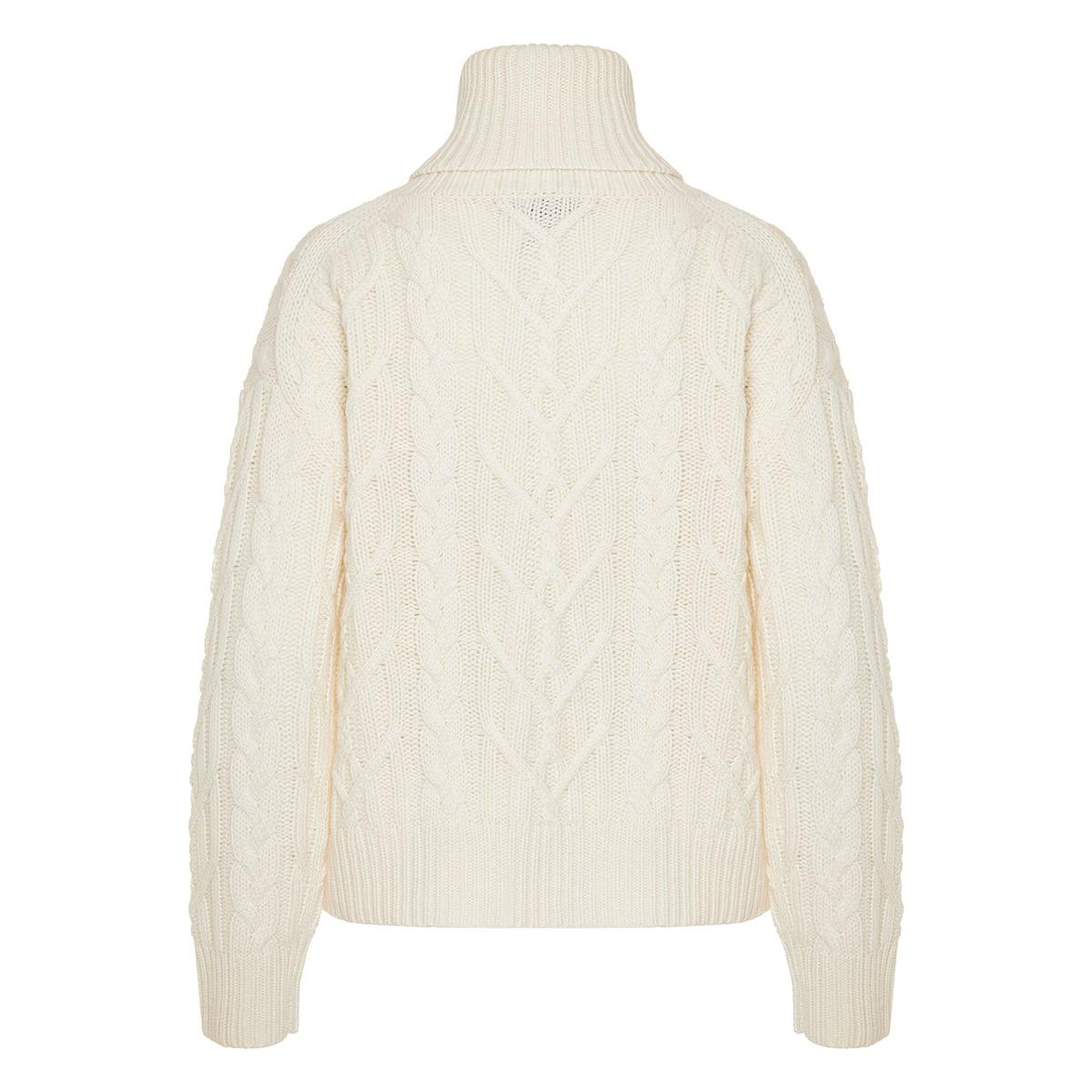 Gigi cable-knit turtleneck sweater