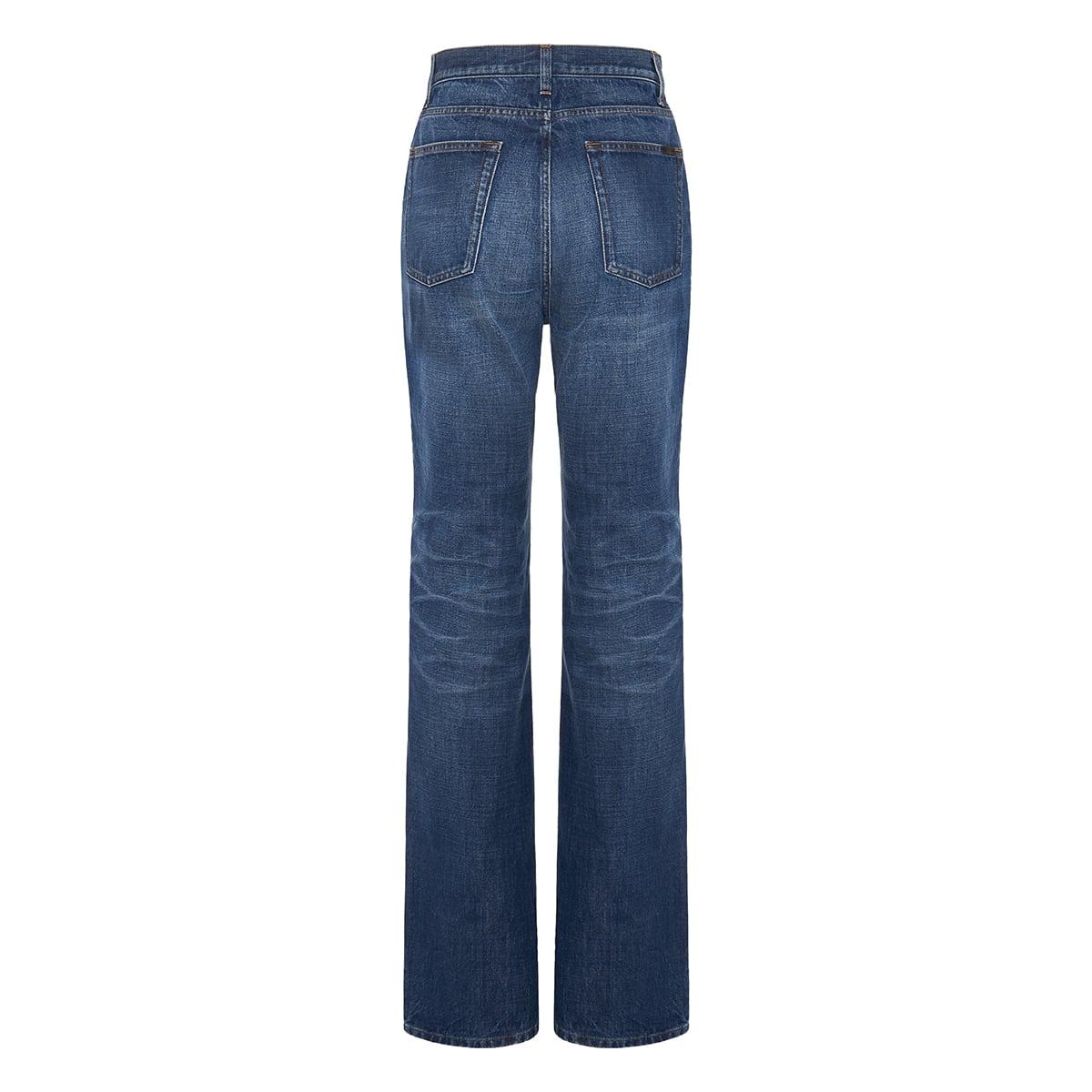 90's high-waist flared jeans