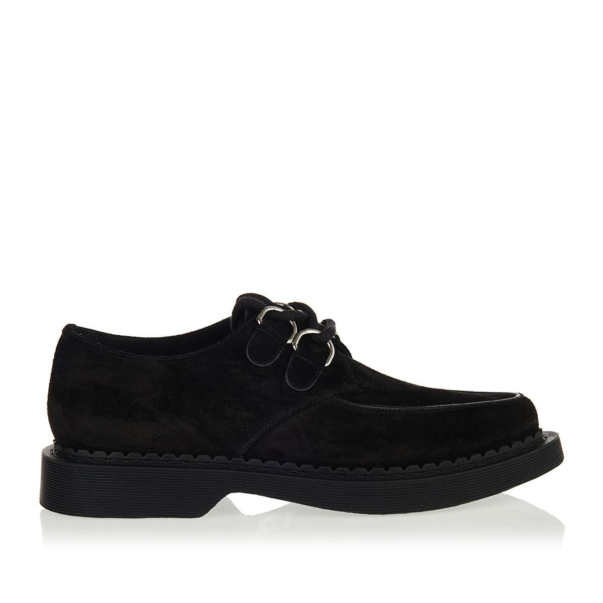 Teddy suede derby shoes