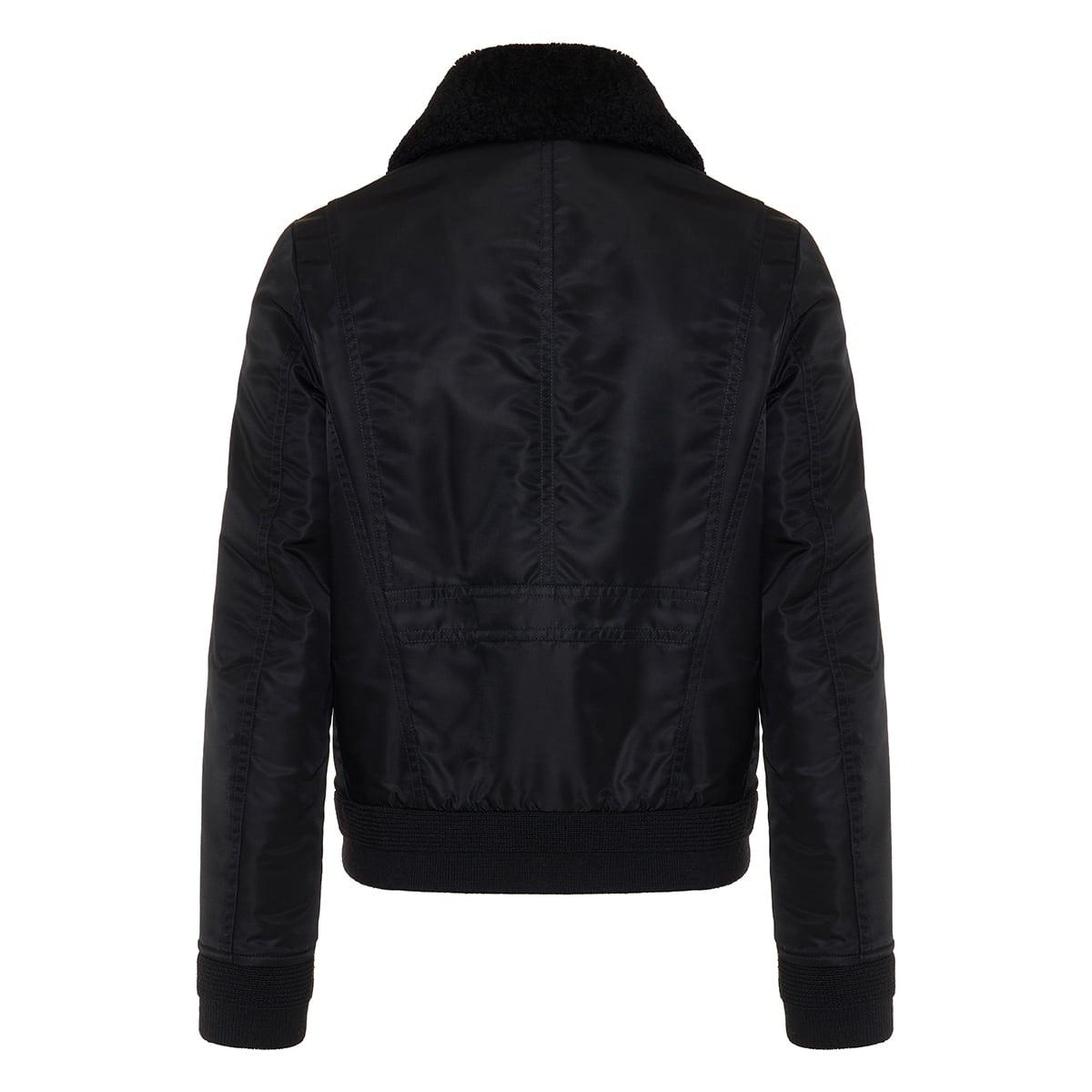 06vi nylon aviator jacket
