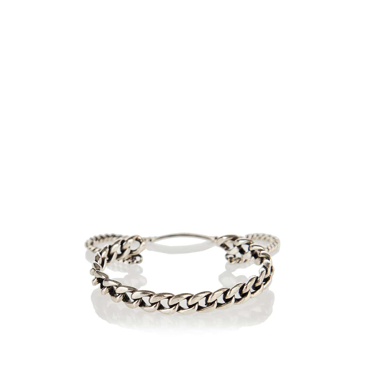 Double chain wrist cuff