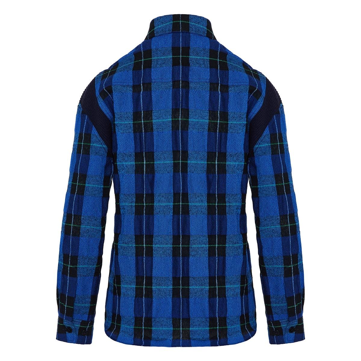 Gwen oversized checked shirt