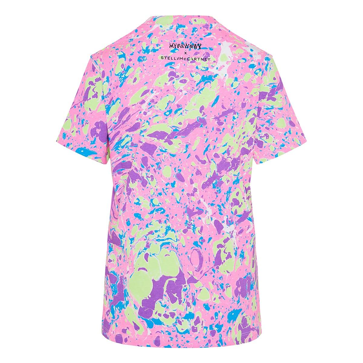 x MYFAWNWY printed cotton t-shirt