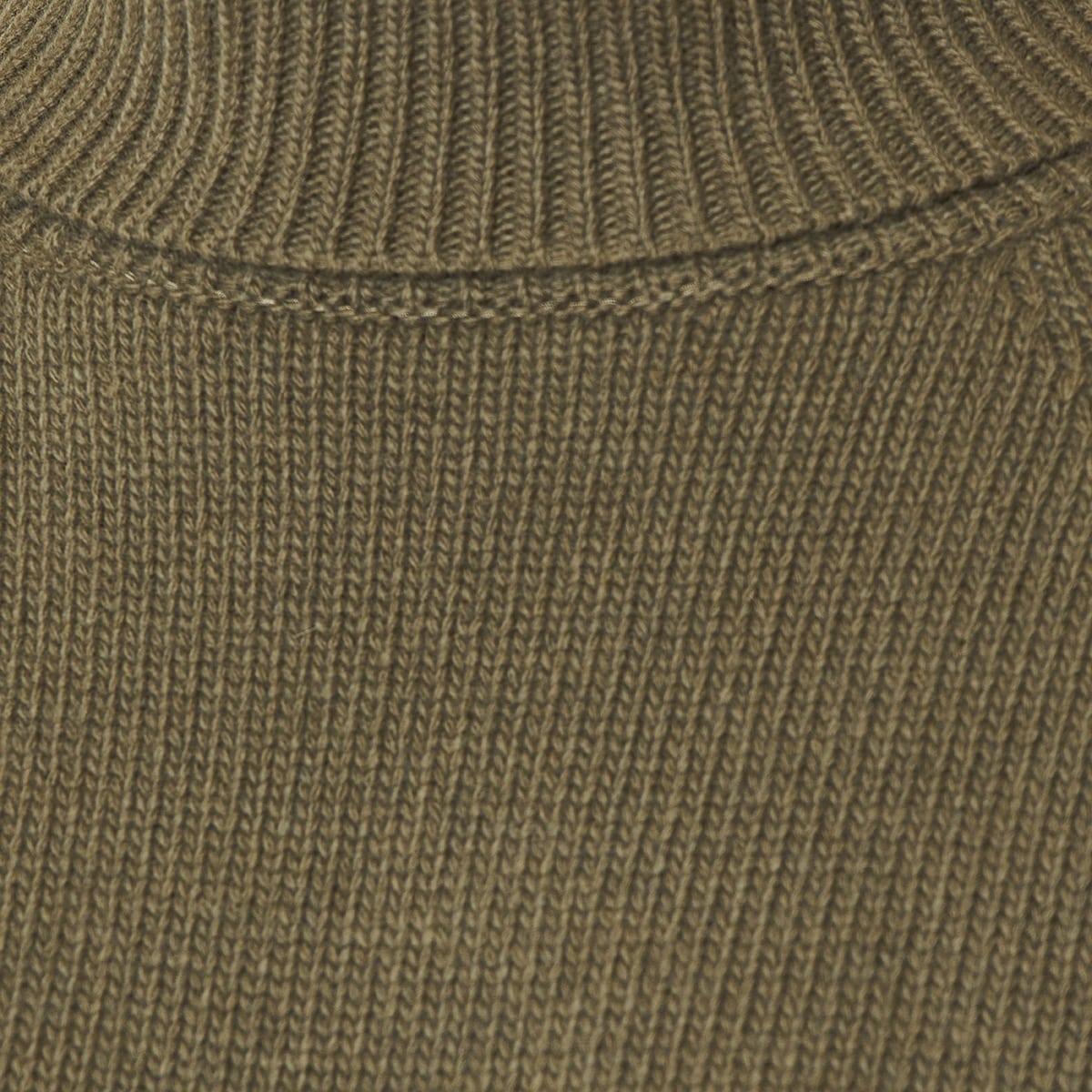 Wide-sleeved turtleneck sweater