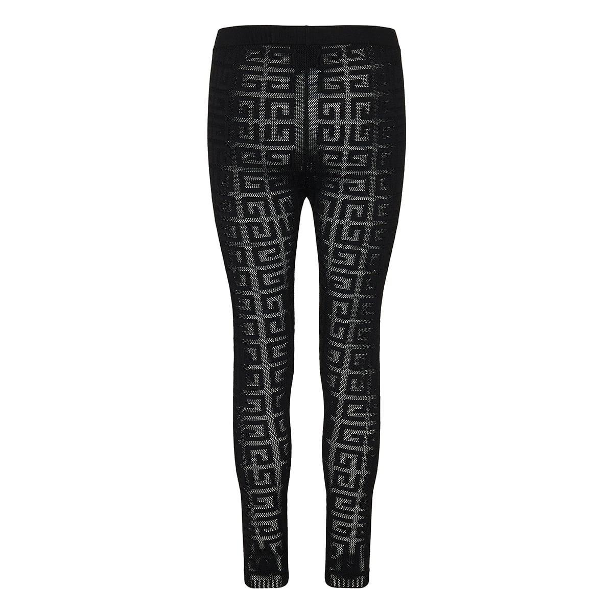 4G jacquard leggings
