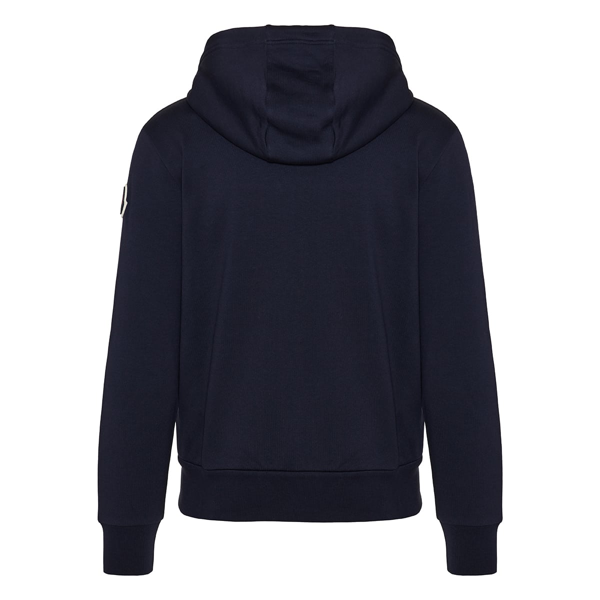 Zipper cotton hoodie