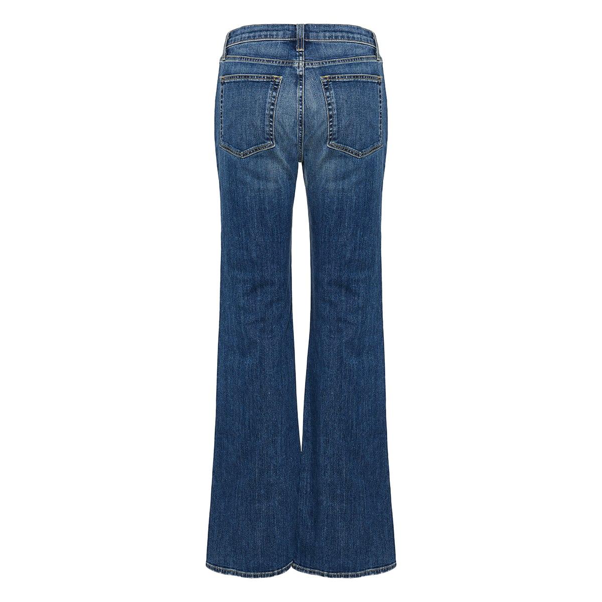 Brindie wide-leg jeans
